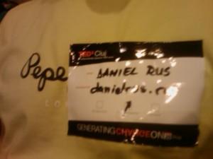 Pepe a furat identitatea lui Daniel Rus pentru a participa la TEDxCluj