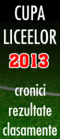 Cupa Liceelor 2013